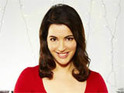 "Nigella Lawson heaps praise on the ""fantastic"" Iron Chef competition in the US."