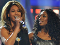 Alexandra Burke has hinted that she plans to record with Beyoné.