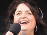 Ruth Jones presents her last BBC Radio Wales show from Barry Island with the help of James Corden