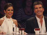 Simon Cowell and Cheryl Cole