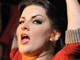 Jodie Prenger as Nancy at the Oliver! photocall