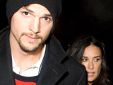 Ashton Kutcher and Demi Moore out and about in Washington DC before the Inauguration