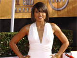 Taraji P Henson at the 15th Annual Screen Actors Guild Awards arrivals, Shrine Auditorium, Los Angeles