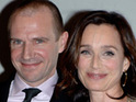Actress Kristin Scott Thomas says that she loves drinking Guinness and eating crisps.