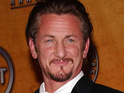 Sean Penn claims that he was not banned from the Governor's Ball on Sunday.
