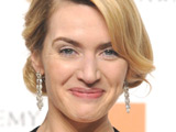 Kate Winslet and her Best Actress BAFTA for The Reader