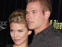 Kellan Lutz and AnnaLynne McCord walk the red carpet together at the Eclipse premiere.