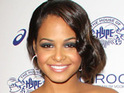 Christina Milian reveals the first photographs of her newborn daughter Violet.
