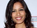 Freida Pinto confesses to agreeing to star in Immortals for the half-clothed men.