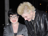 Kelly Osbourne out with fiance Luke Worrall in Hollywood.