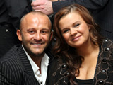 Kerry Katona and Mark Croft