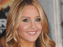 Amanda Bynes announces that she has changed her mind about Hollywood and is returning to acting in films.