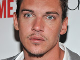 Jonathan Rhys Meyers at the Season 3 premiere of 'The Tudors' in New York City.