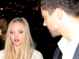 'Mamma Mia' stars Amanda Seyfried and Dominic Cooper leaving the Chateau Marmont hotel in West Hollywood, LA