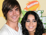 Zac Efron and Vanessa Hudgens arriving at the Nickelodeon's 22nd Annual Kids' Choice Awards