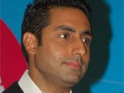 Abhishek Bachchan picks up the 'Worst Accent Award' at Bollywood's version of The Razzies.