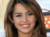 Miley Cyrus attends the Madrid Premiere of 'Hannah Montana: The Movie' in Spain.