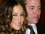 "Sarah Jessica Parker and Matthew Broderick attending the opening night for the Broadway play ""The Philanthropist"""