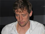Peter Crouch leaves Vendome nightclub with a male companion at 4am, appearing rather worse for wear, London