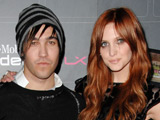 Ashlee Simpson-Wentz and Pete Wentz at the T-Mobile Sidekick LX launch