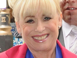 Barbara Windsor arrives at Samantha Janus' wedding location, London, England
