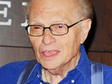 Larry King at the book signing of his latest book 'My Incredible Journey'. Los Angeles, California.
