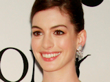 Anne Hathaway looking stunning arriving at The 63rd Tony Awards held at the Radio City Music Hall, New York