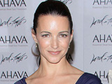 Kristin Davis doing promotion at Lord & Taylor in New York City