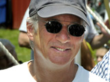 Richard Gere at the 'Green Chimney with the Birds of Prey' day in New York City