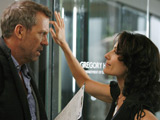 Hugh Laurie & Lisa Edelstein