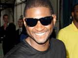 Usher arriving for the Dior Fashion Show at Paris Fashion Week