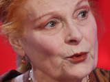 Iconic punk designer Vivienne Westwood making a guest appearance on 'Tonight with Jonathan Ross'.