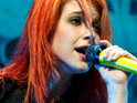 Paramore star Hayley Williams reveals that she has teamed up with Eminem on a new track.