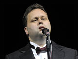 Paul Potts performs live in concert at the Seminole Hard Rock Hotel and Casino's Hard Rock Live, Hollywood, Florida.