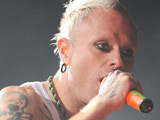 Keith Flint from The Prodigy performs live at Global Gathering held at Long Marston airfield. Warwickshire, England.