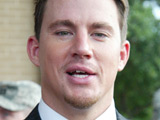 Channing Tatum at the Army and Air Force Exchange Service. Maryland, USA.