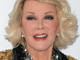 Joan Rivers attending the taping for &quot;Comedy Centrals Roast Of Joan Rivers&quot; at CBS Studios in California