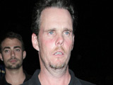 Entourage's Kevin Dillon leaves BOA restaurant in West Hollywood, Los Angeles