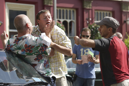 EastEnders: Garry and Dawn BTS (August 2009)