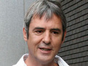 Neil Morrissey 'causes flight chaos'