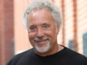 Tom Jones reveals that his album is ahead of Eminem's in the UK charts, and suggests a collaboration.