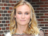 Diane Kruger heading for an appearance on the &#39;Late Show With David Letterman&#39;, New York City