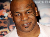 Mike Tyson signing copies of his DVD 'Tyson', Los Angeles