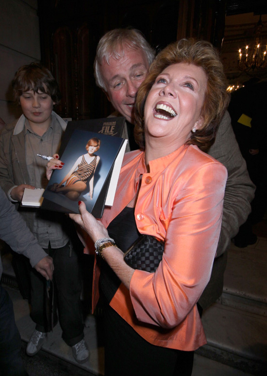 Cilla Black and Christopher Biggins