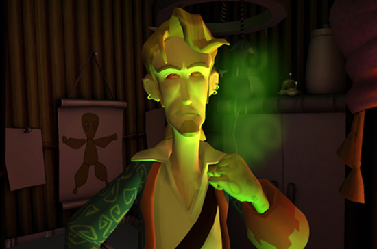 Possessed Guybrush Threepwood