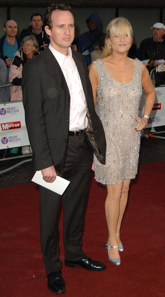 Gaby Roslin and husband