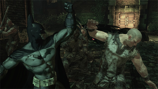 Batman Fighting