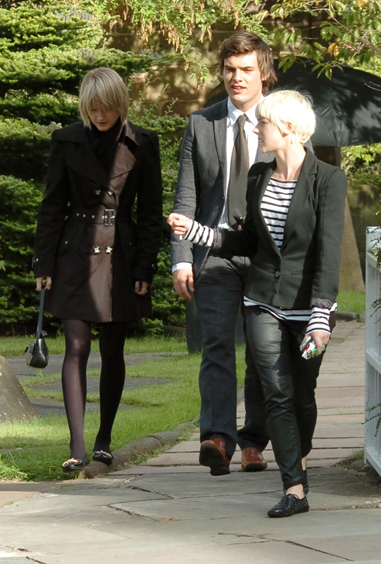 Hollyoaks Funeral Filming August 2009