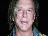Mickey Rourke at the Wellington. London, England.