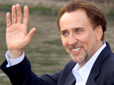 Nicolas Cage leaving for the The 66th Venice Film Festival, Venice